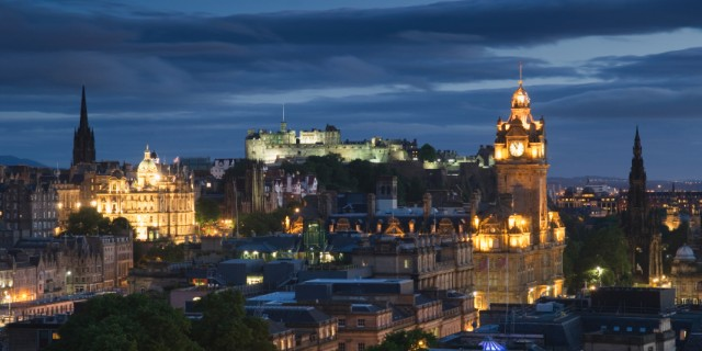 Edinburgh Nightime