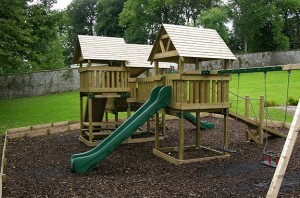new play area for children