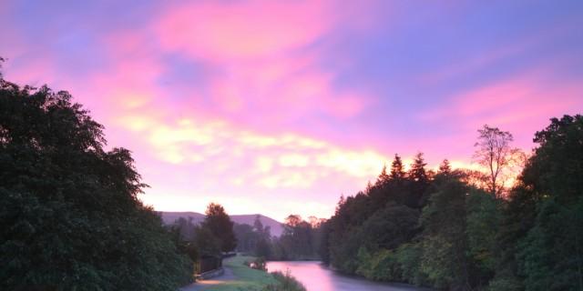 Dawn on the Tweed